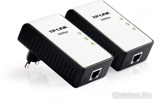 TP-LINK HomePlug AV для сетей по электропроводке