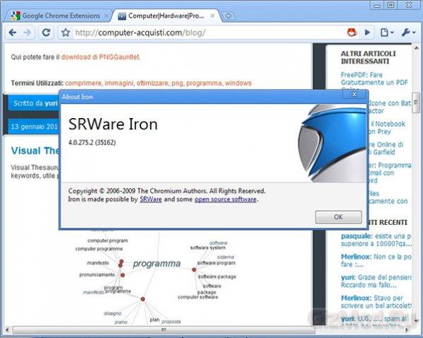 SRWare Iron 10.0.650.1 - Лучший среди Хромов