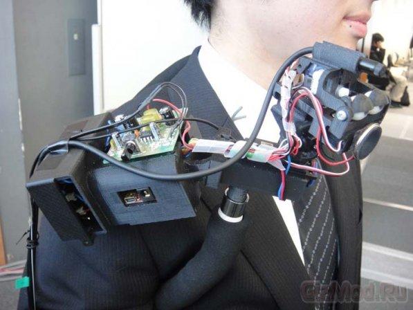 Наплечный робот-друг TEROOS