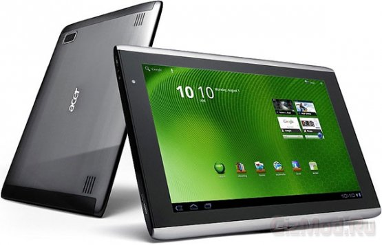 """���� 10"""" �������� Acer �� ���� Android 3.0"""