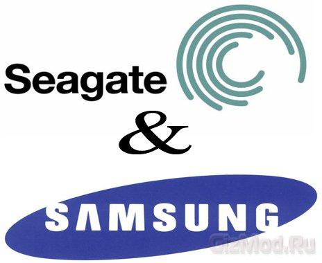 ������ ����� Seagate � Samsung ����������
