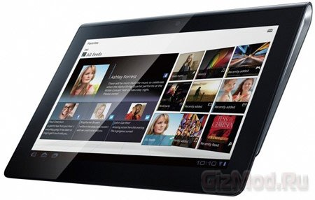 ����������� ����� Sony Tablet S1 � S2
