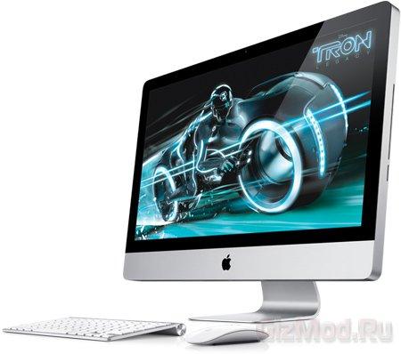 Новые 4-ядерные iMac с интерфейсом Thunderbolt