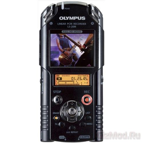 �������� Olympus LS-20M � ������� ����� � Full HD