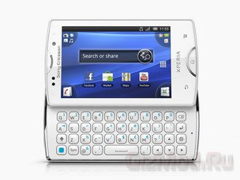 Sony Ericsson обновила линейку смартфонов Xperia mini