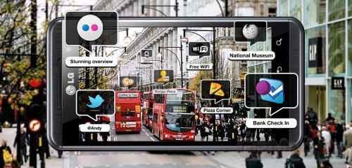 Браузер дополненной реальности для LG Optimus 3D