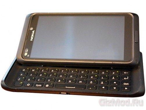Nokia N9 засветился на видео