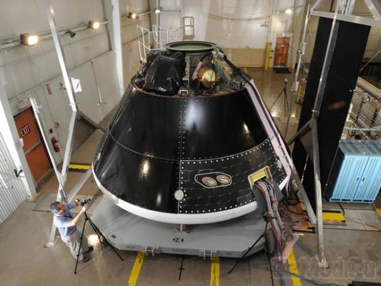 """NASA возродила строительство """"Ориона"""""""