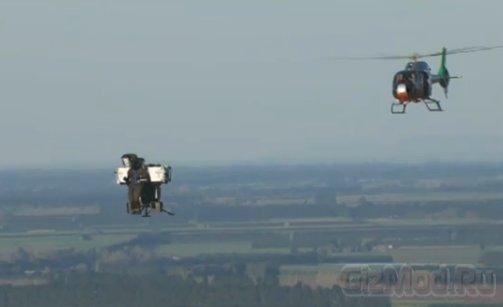 Реактивный ранец Martin Aircraft поднялся на 1,5 км