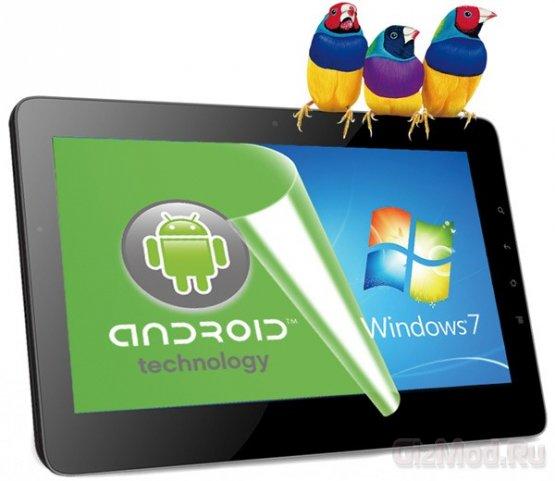 � �������� ViewPad 10Pro ��������� Windows � Android