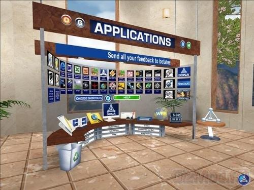 3DNA Desktop 1.1 - 3D рабочий стол