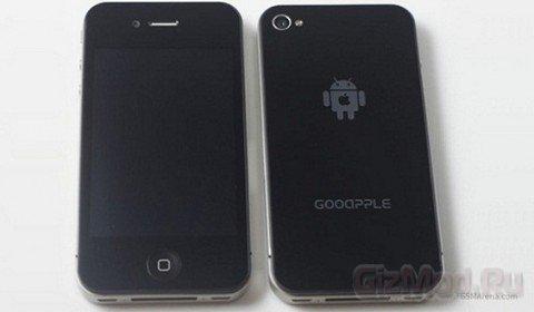 Китайский iPhone 4 под управлением Android