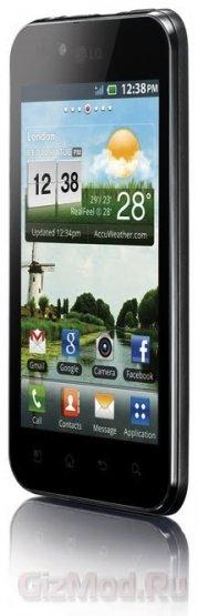 LG Optimus Black с дисплеем NOVA теперь в России