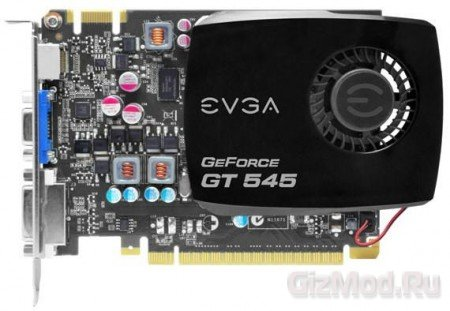 EVGA ����� ������������� GeForce GT 545