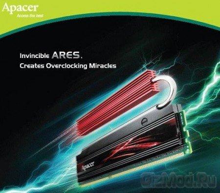 Apacer представила 8Гб комплекты памяти