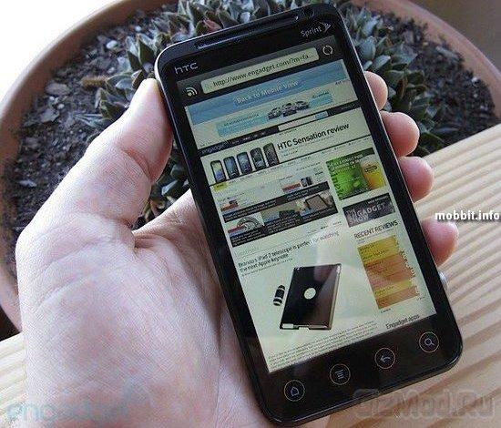 HTC EVO 3D ����� ������������ � ������