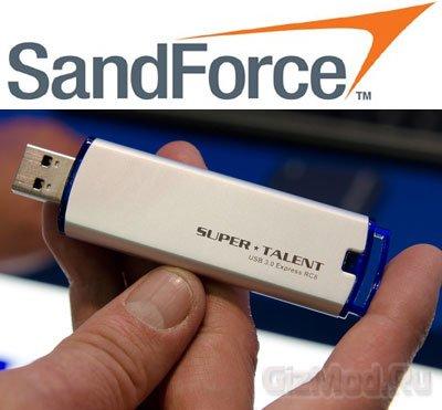 Super Talent выпустила флэшку с процессором SandForce