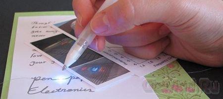 Ручка для рисования токопроводящих дорожек