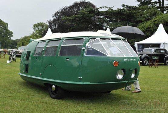 ����� � ������� � ����������� Dymaxion car