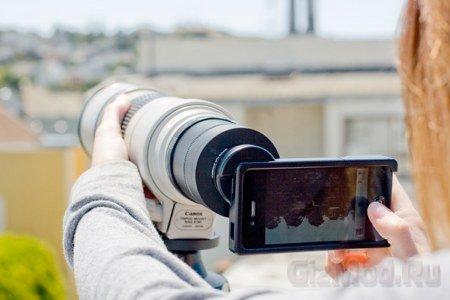 iPhone в роли крутой фотопушки