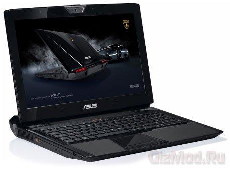 Asus Lamborghini VX7 - суперкар в мире ноутбуков