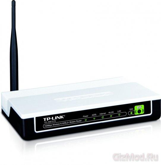 TP-LINK TD-W8151N: ADSL-������ � ���������� Wi-Fi