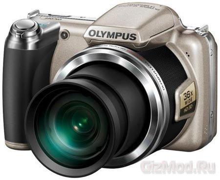 36х ультразум SP-810UZ от Olympus
