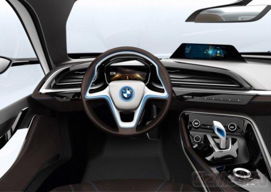 Электрические концепты BMW i3 и i8 Concept