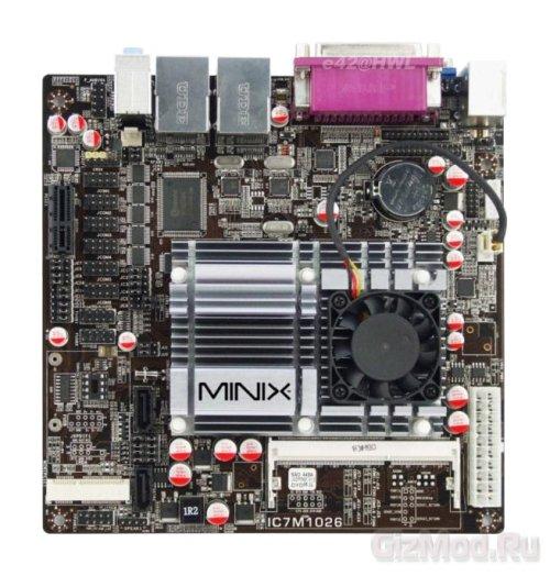 Материнская плата под Intel Atom D2700