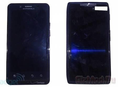 "Смартфон Motorola Droid HD с 4,5"" экраном"