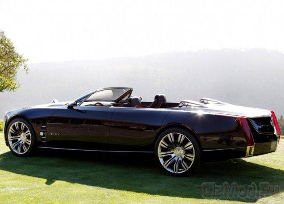 Концептуальный небесный кабриолет Cadillac