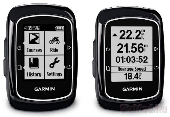 Бюджетный велокомпьютер Garmin Edge 200