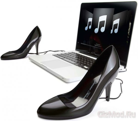 Портативные колонки-туфли Gimme Tunes