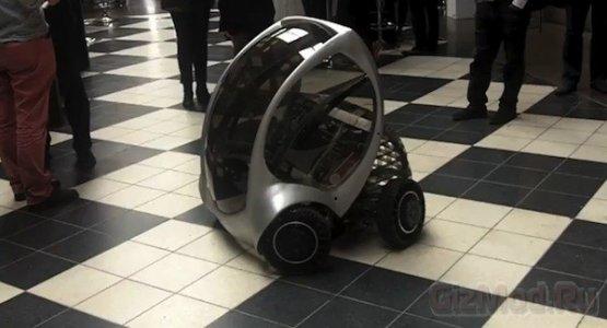 Электромобиль-трансформер CityCar