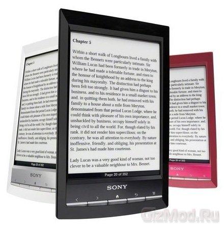 Sony Reader PRS-T1 с поддержкой мультитач