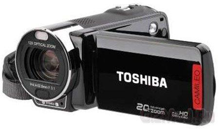 Full HD камкодеры Toshiba Camileo X200/X400