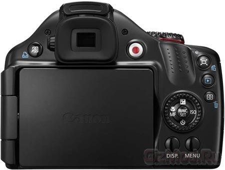Беззеркалка Canon PowerShot SX40 HS с 35х зумом