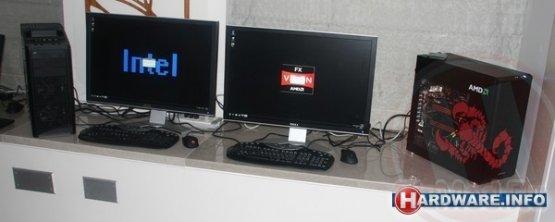 """Официальное """"соревнование"""" AMD FX VS Intel"""