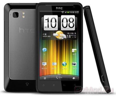 HTC представила смартфон Raider 4G