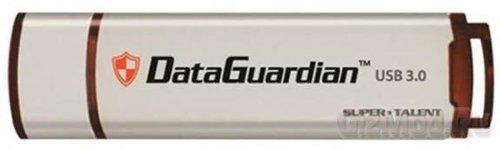 SuperTalent USB 3.0 DataGuardian защищены паролем