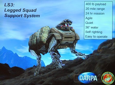 Boston Dynamics показала новое поколение BigDog