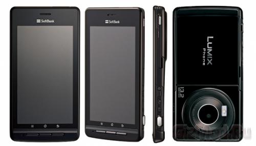 ������ ������ � �������� Lumix Phone 101P