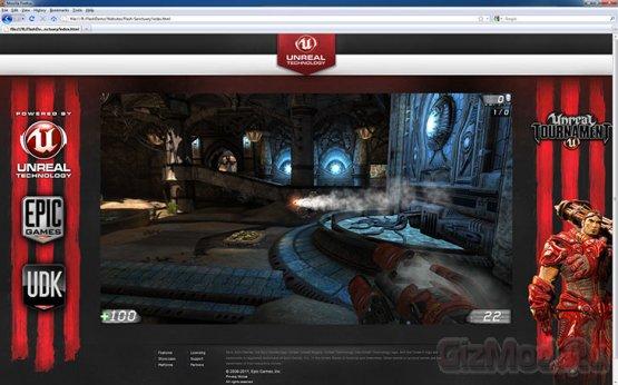 ������� ������ Unreal Engine 3 �������� �� Flash