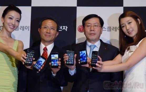 "LG ""хвастает"" дисплеем True HD IPS"