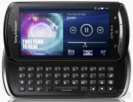 Sony Ericsson Xperia pro выйдет в октябре