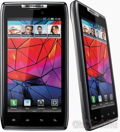 Представлен слим-смартфон Motorola RAZR
