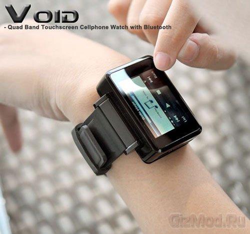 Наручный китайский телефон Void
