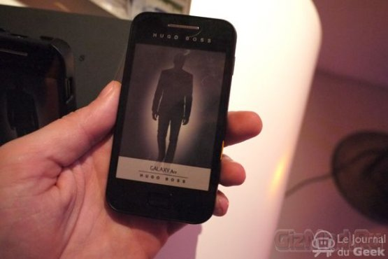 "Galaxy Ace � ""������"" �� Hugo Boss"