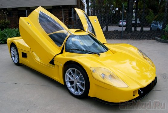 Varley evR450 - австралийский электро-суперкар