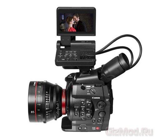 Профессиональные Full HD-камеры Canon EOS C300